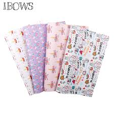 IBOWS <b>22*30cm Faux Leather Fabric</b> Unicorn Snythetic Leather ...