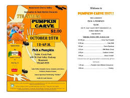 Pumpkin Carving Contest Flyers Oct 28 7th Annual Pumpkin Carve Banning Beaumont Ca Patch
