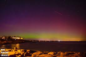 Northern Lights Maine Northern Lights Brighten Up New England Skies The Boston Globe