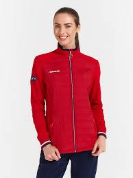 W06110G-RR202 <b>Куртка флисовая женская</b> (красный), артикул ...