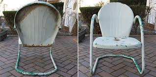 vintage metal patio furniture. Perfect Metal Vintage Metal Outdoor Chair Redux Within Chairs Remodel 19 Throughout Patio Furniture