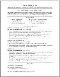 How To Make A Cna Resume livmoore tk nursing assistant cover letter no  experience sample