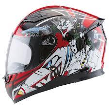 Zox Sonic Junior Tomcat Red Full Face Helmet 88 34974