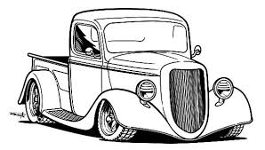 Small Picture Pick Up Hot Rod Cars Coloring Pages Kids Play Color COLORING