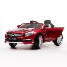 <b>Электромобиль BARTY Mercedes</b>-Benz <b>SL63</b> AMG (Вишня ...