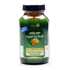 Irwin Naturals <b>Only One Liquid Gel Multi</b> without Iron - 60 Softgels ...