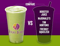 Booster Juice Nutrition Chart Whats In Your Smoothie Jugo Juice