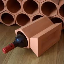 Picture of Individual Terracotta Wine Rack Keystone Section