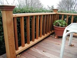 fascinating robust wood deck railing ideas rail design front image of inspiration and trends deck railing