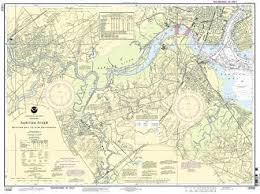 Raritan River Map Raritan River Raritan Bay To New