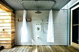 homely idea interior corrugated metal wall panels for decorative cost