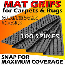 carpet grip. medipaq® non-slip mat and rug grippers (pack of 8) -stop your mats rugs from slipping sliding!: amazon.co.uk: kitchen \u0026 home carpet grip