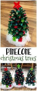 Easy PineCone Gnome Ornaments U2013 Fun Christmas Tree Kid Craft Pine Cone Christmas Tree Craft Project