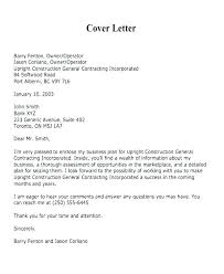 Cover Letter To Bank For Business Plan