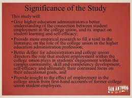 Case Study Analysis of College Union Employment as a Source of     Jisc