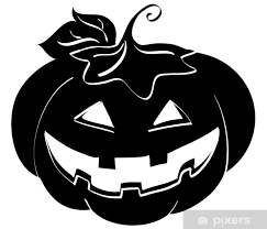 Silhouette Di Zucca Di Halloween Wall Mural Pixers We Live To