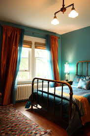 Teal Bedroom Bedroom Done In Teal And Copper A Mix Of Bohemian Chic And Turn Of