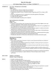 Resume Job Skills Best of Metrology Engineer Resume Samples Velvet Jobs