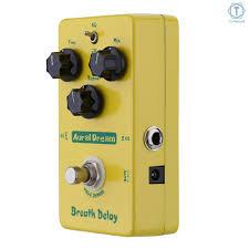 ∮ Aural Dream Breath Delay Electric <b>Guitar Effect Pedal</b> Smart ...