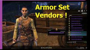 Cyrodiil S Light Eso Cyrodiil Armor Set Vendors Locations Armor Sale Lists