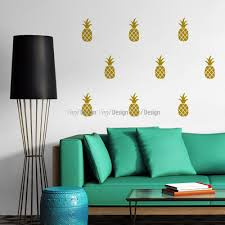pineapples wall decal image 0