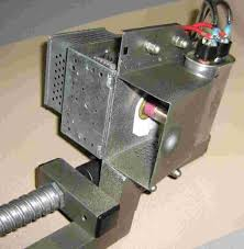 gbppr electromagnetic pulse experiments part 2 the high voltage capacitor charging line comes in via an armored cable the high voltage capacitor is epoxied behind the feed horn this is only temporary