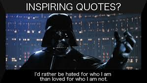 Darth Vader Quotes Enchanting Darth Vader Inspiring Quote A N Other Blog By Weavehole
