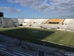 Ucf Baseball Stadium Seating Chart Spectrum Stadium Section 207 Rateyourseats Com