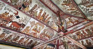 Lukisan Wayang di Kertha Gosa