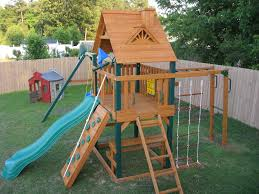 outdoors playsets wood gorilla swing sets outdoor