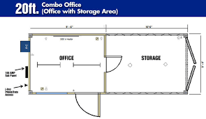 Shipping container office plans Used Housing 20floorplancombo Storstac Portable Rental Offices Mobile Container Rental Offices Storstac