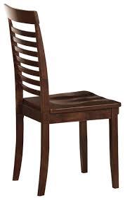 wooden chair side. Homelegance Tyler Wood Side Chair In Brown Espresso Wooden N