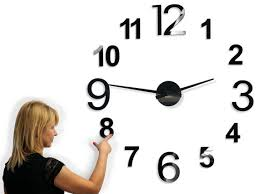extra large wall clock 100 130 cm 40