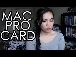 how to get the mac pro card for freelance makeup artists without a license or makeup