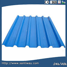 22 gauge corrugated steel roofing sheet in white color pictures photos