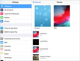 lock screen wallpaper on your ipad