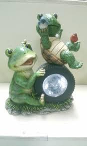 China Mosaics Frog Solar Lights From Quanzhou Manufacturer Solar Frog Lights