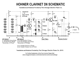 wiring diagram archives the chicago electric piano co clavinet d6 schematic