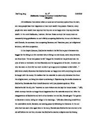 analytical writing essay