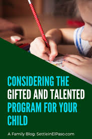 gifted and talented education monly called g t provides additional materials and resources