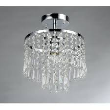 chandeliers candice chrome and crystal semi flush mount chandelier flush mount chandelier for nursery thesecretconsul