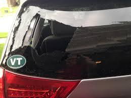 2013 Toyota Sienna Rear Window Exploded Outward: 2 Complaints