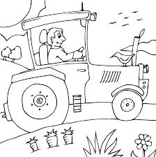 Coloriage De Tracteur Massey Ferguson