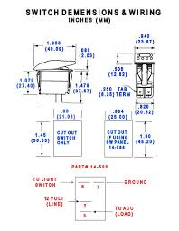 wiring diagram for illuminated toggle switch images home > switches > contura ii rocker switch legend type