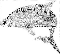 Small Picture Hard Animal Pattern Coloring Pages GetColoringPagescom