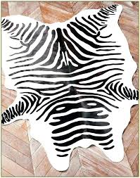 animal print rugs zebra pattern rug cowhide furniture of bunk bed ikea faux image designer direct