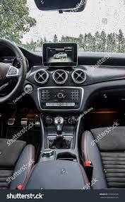 Praguethe Czech Republic 3182017 Interior Mercedes Stock Photo ...