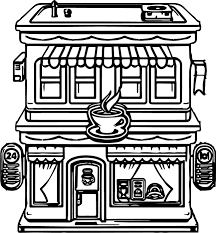 Coloring Pages For Restaurants Malokidsmenu 1 The Color Panda