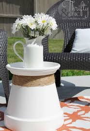 latest craze european outdoor furniture cement. repurposed terracotta pot into accent table latest craze european outdoor furniture cement