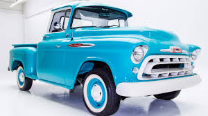All Chevy chevy apache 1957 : 1957 Chevy Apache 3100 - YouTube